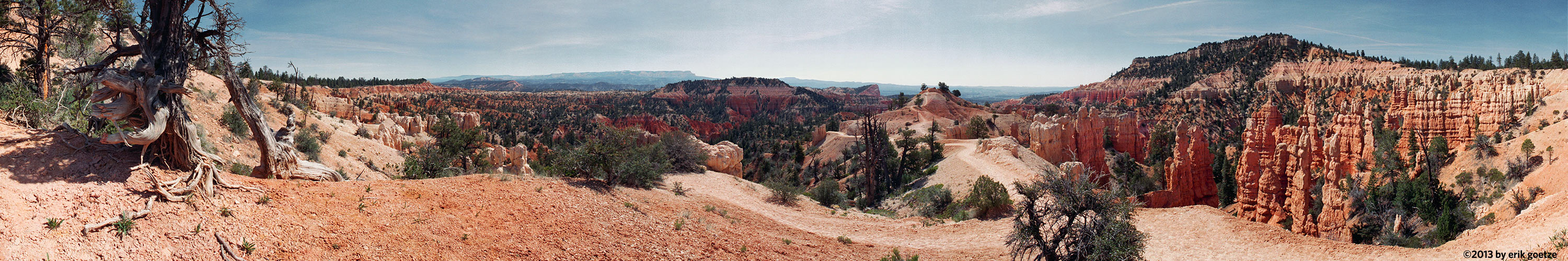 This 360 panorama is from Bryce Canyon, Utah