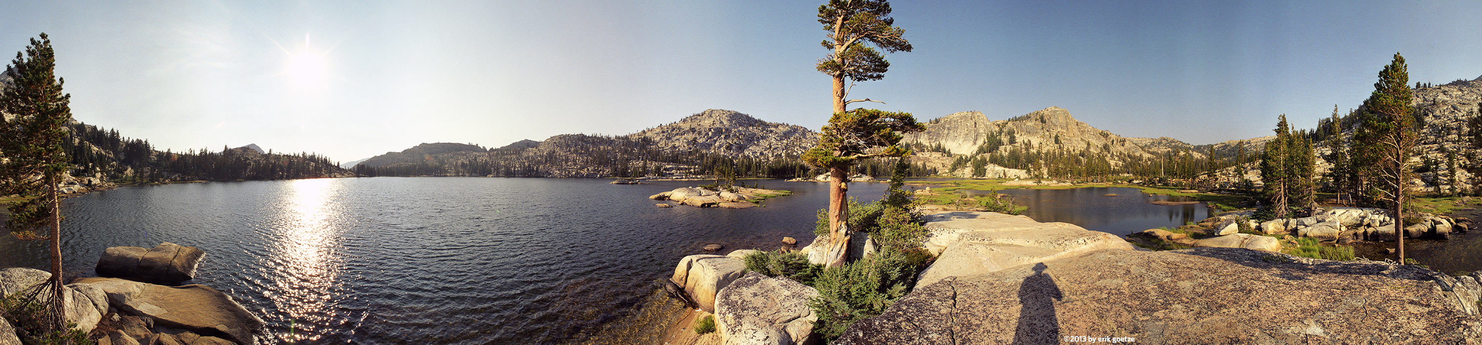 Lake Smedberg on the PCT, California