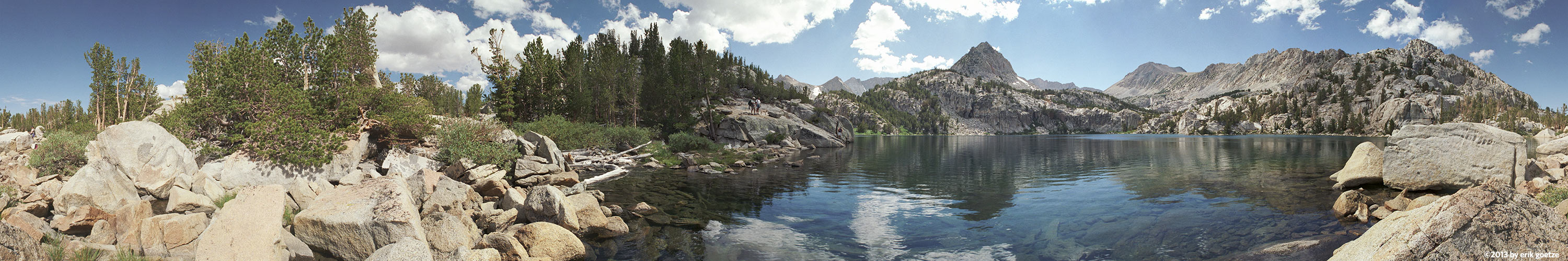 Lower Lamarck Lake, California
